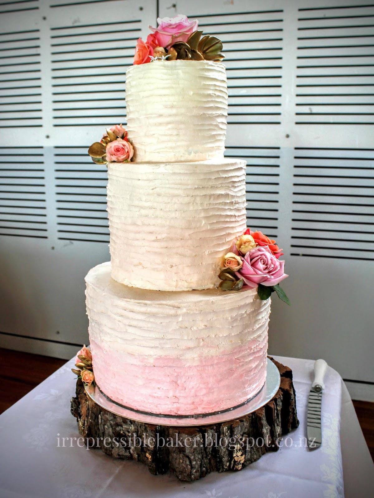 Pretty in Pastel Pink Wedding Cake Fruit Cake Recipe – Sweet nor