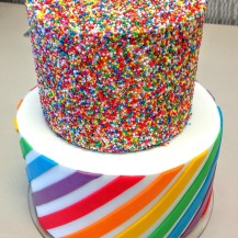 https://sweetnorwesterly.com/2016/03/03/rainbow-sprinkles-stripes-baby-shower-cake/